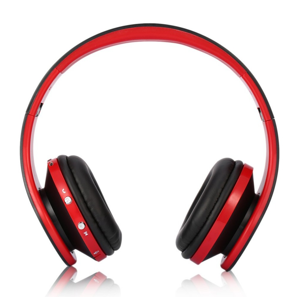 Foldable Wireless Headphone Stereo Bluetooth Headset Combo with Mic Support AUX For iPhone Cellphone PC Laptop 3.5mm Audio Jack