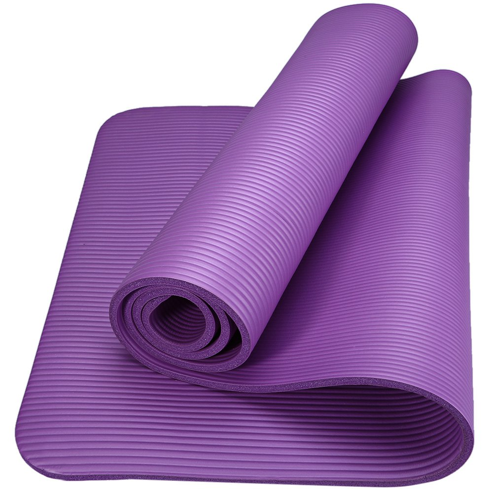 6 Colors 183 X 61 X 1cm Nbr Yoga Mat 10mm Anti Skid Yoga