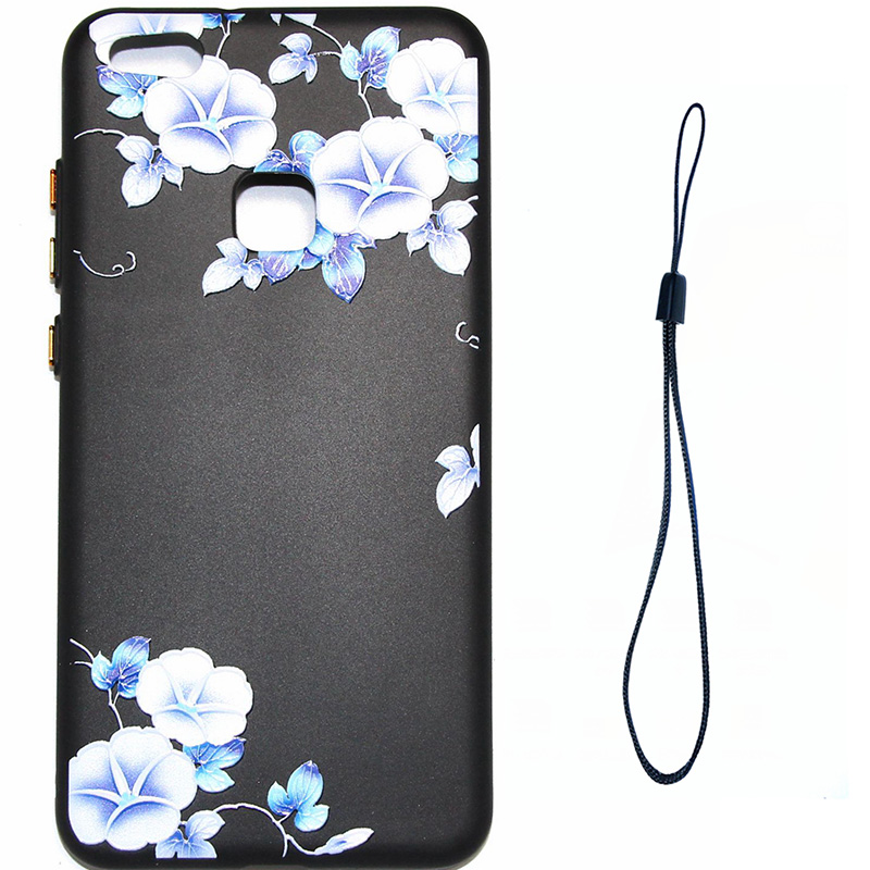 3D Relief flower silicone huawei P10 lite (11)