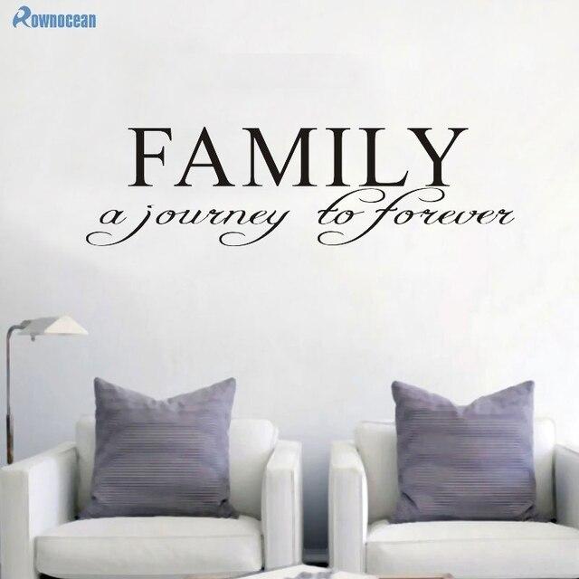 Famiglia Adesivo Famiglia Un Viaggio Sempre Family Room Decorazione ...