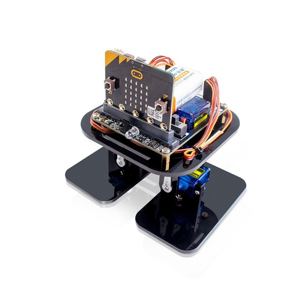 SunFounder sloth:bit APP Programming Robotics Learning Kit with BBC Micro:bit Controller obstacle Avoidance Sensor