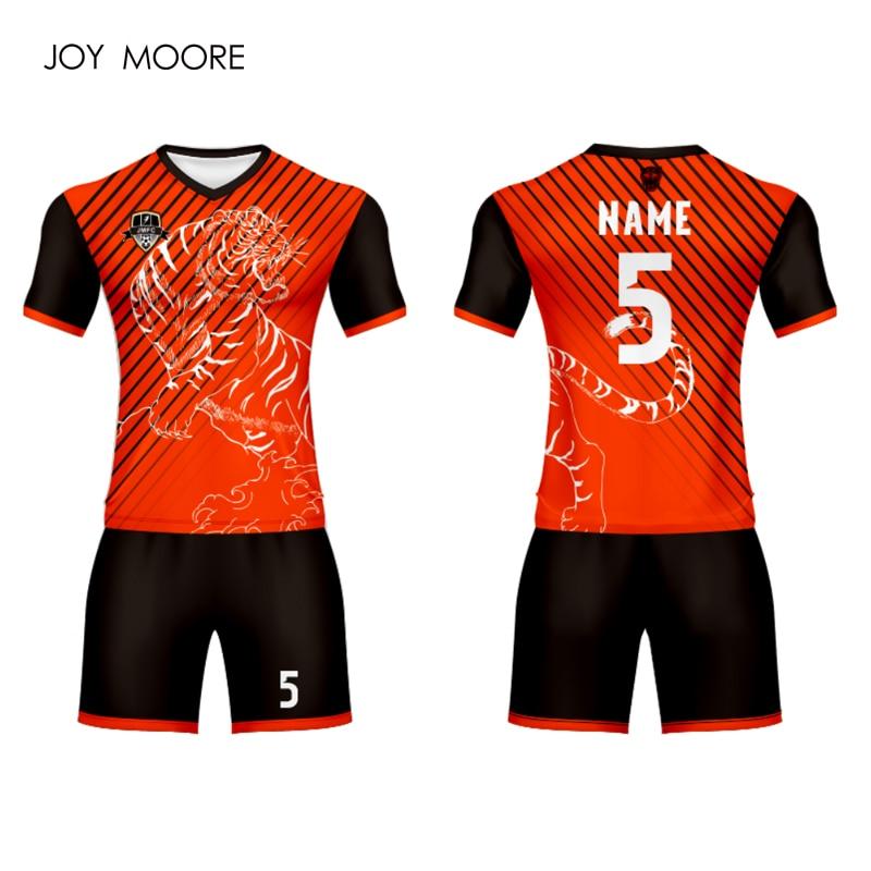 Ehrgeizig Neue Berufs Design Digitaldruck Fußball Set Custom Fußball Jersey Hemd Attraktiv Und Langlebig