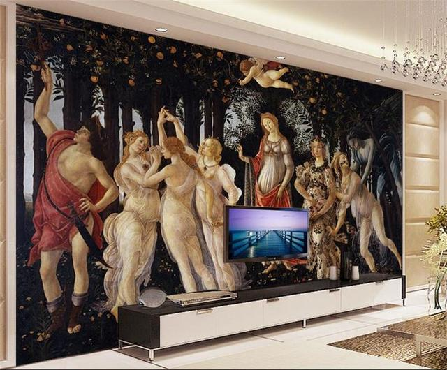 3d room photo wallpaper custom mural non woven wall sticker spring
