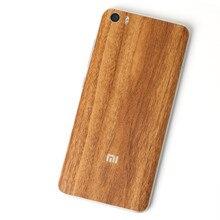 Carboon Вид древесины назад фильм Защитная крышка наклейки Для Xiaomi Mi5 M5 Ми 5 5.15 «цвет назад фильм Пастер Декоративной пленкой