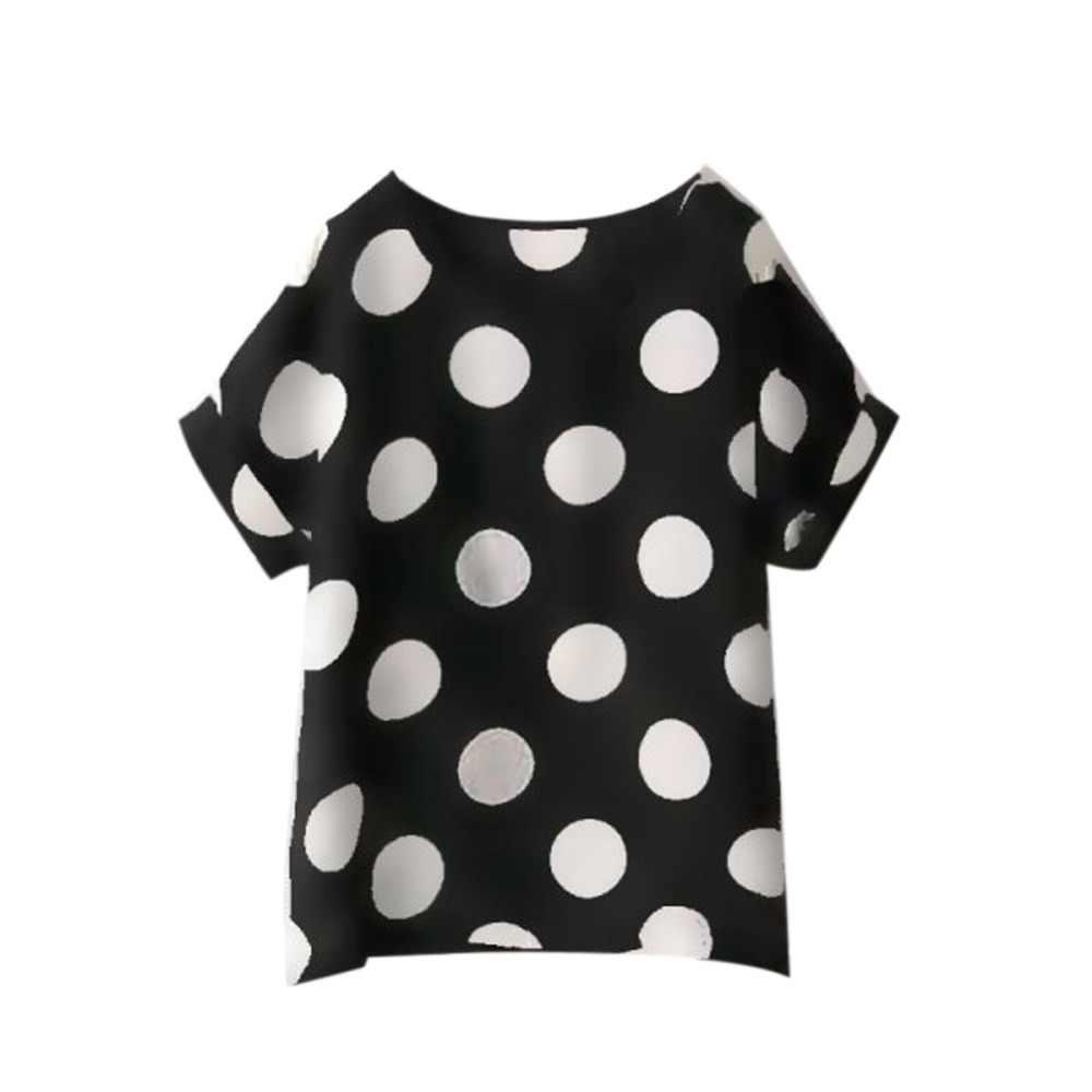 T koszula kobiety 2017 lato zwierząt ptak drukowanie T Shirtt szyfonowa kolorowe z krótkim rękawem luźna koszulka damskie bluzki Tee bawełna mieszanka