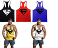 Mens Tank Top Superman Gyms Muscle Brand Sporting Clothing Bodybuilding Fitness Gorilla Wear Vest Stringer Male Undershirt M-2XL