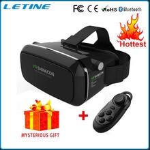 2016 Google carton réalité virtuelle Shinecon VR casque lunettes 3D DVD films pour iphone Samsung 4.0 – 6.0 polegada Smartphone