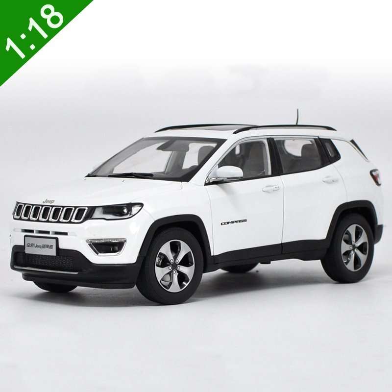 New 1:18 Diecast Model For JEEP COMPASS 2017 White SUV ...