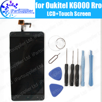100 Original For Oukitel K6000 Pro Screen 5 5 Inch LCD Display Touch Digitizer Assembly Replacement