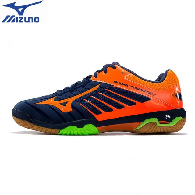 ... purchase 2018 mizuno wave fang rx2 badminton shoes for men light weight sports  shoes breathable brand b6a02e18180