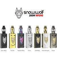 100% original NEWEST electronic cigarette kit vape kit sigelei snowwolf range MFENG 200W SUPER POWER