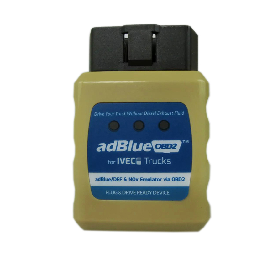 Prix pour AdblueOBD2 Émulateur Pour I-VECO Camions Adblue obd2 I-VECO Adblue/DEF NOX Émulateur obdii Livraison Gratuite