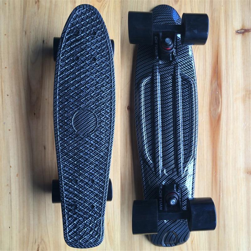 Haig Graphic Printed  Mini Cruiser Plastic Skateboard 22 X 6 Retro Longboard Skate Long Board