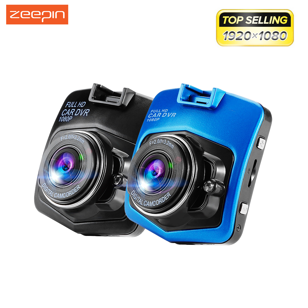 Supporto Lingua Russa Zeepin Mini Macchina Fotografica Dell'automobile DVR GT300 Videocamera 1080 P Full HD Video Registrator Recorder G-sensor Dash Cam