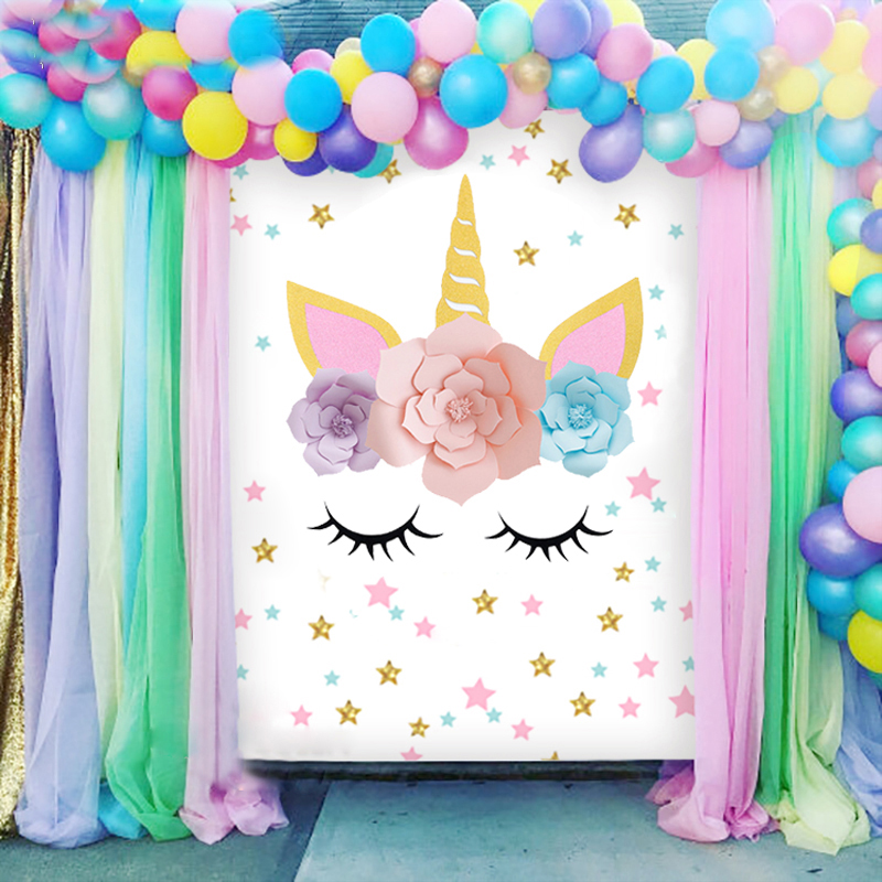 Unicorn Horn Ears Birthday Party