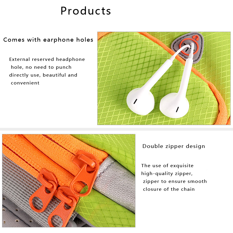 Hot sale Outdoor Sports Nylon Unisex Running Bags Fitness Jogging Riding Cycling Accessories Arms Sport Package Smart phone Bag 13