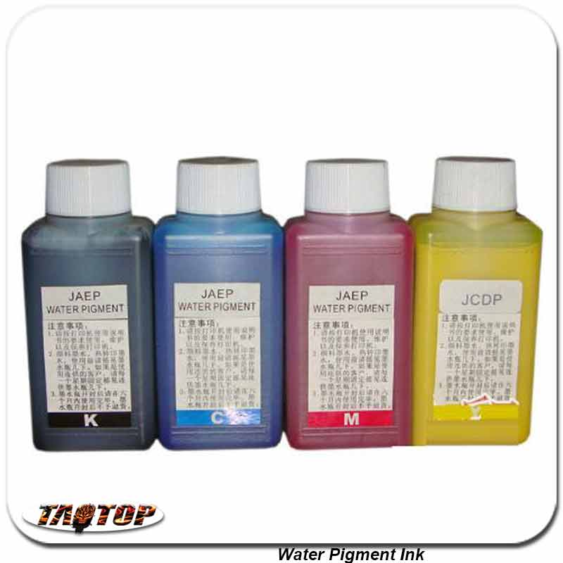 iTAATOP Water Pigment Ink 100ML X4 color Blank Film Pigment Ink Blank Hydrographic Film