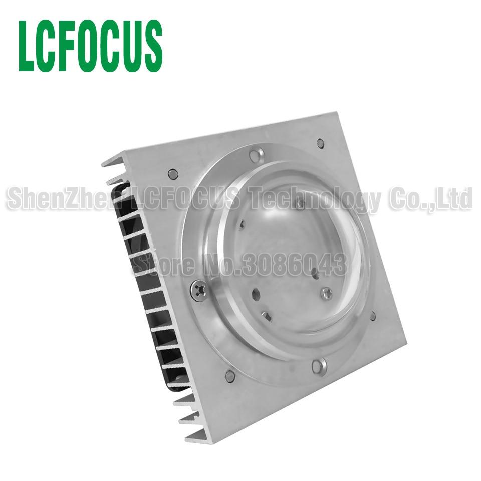 10W 20W 30W 50W 100W LED Aluminum Heatsink Radiator With Fan Lamp Cooling For DIY LED Full Spectrum Grow Light Aquarium Light
