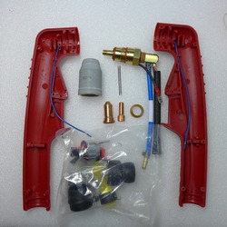 Non-HF Pilot Arc Replacement PT-100 PT100 PT 100 Torch Body Air Plasma Cutting Torch Consumables Fit FUBAG P100