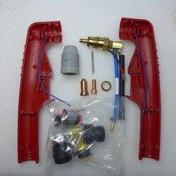 PT-100 de repuesto de arco piloto no HF PT100 PT 100 cuerpo de antorcha de corte por Plasma de aire consumibles de antorcha de ajuste FUBAG P100