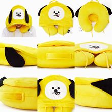 BTS BT21 Hooded Travel Neck Pillows (7 Models)