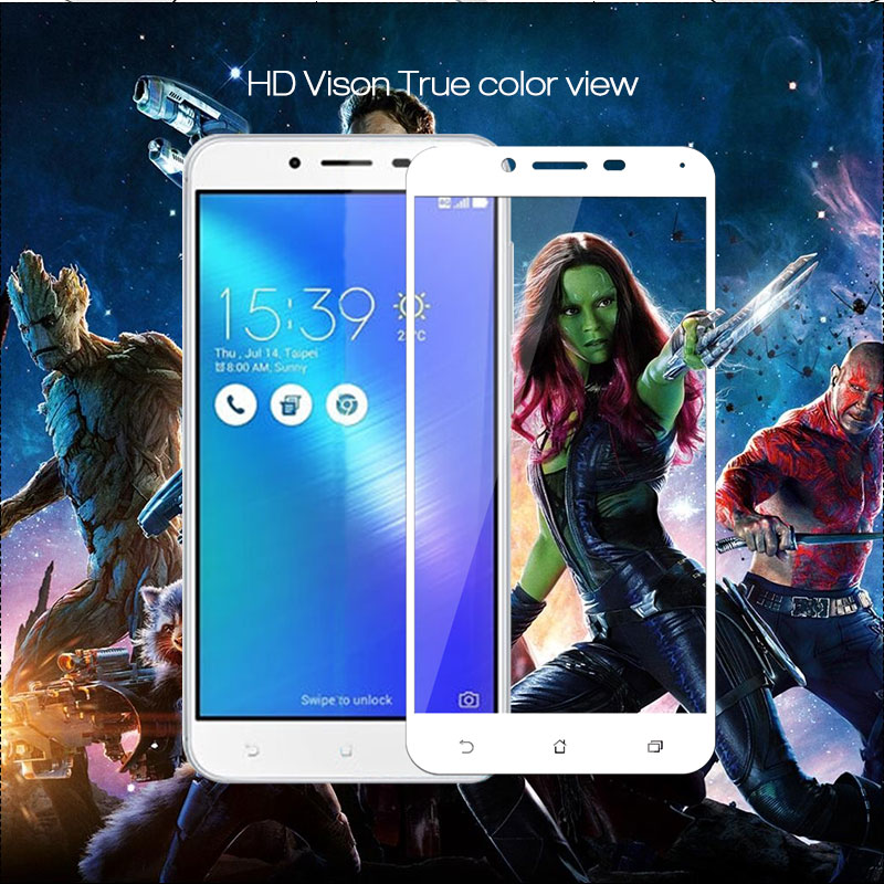 Tempered <font><b>Glass</b></font> for <font><b>ASUS</b></font> ZenFone 3 MAX <font><b>ZC553KL</b></font> X00D Screen Protector Phone Protective <font><b>Glass</b></font> for Zenfone 3 Max <font><b>ZC553KL</b></font> Full Cover image