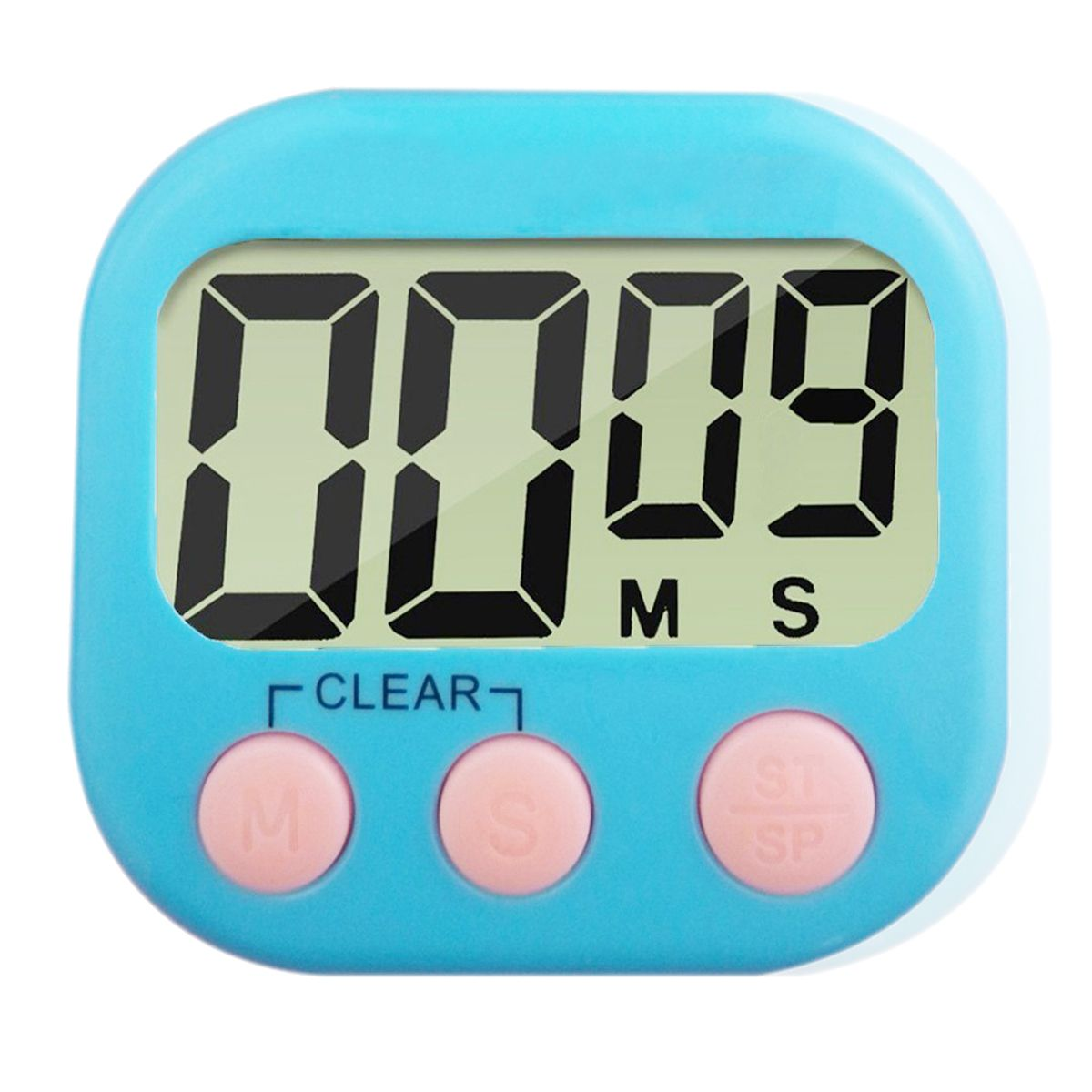 SDFC-Large LCD Digital Kitchen Egg Cooking Timer Count Down Clock Alarm Stopwatch(blue) ...