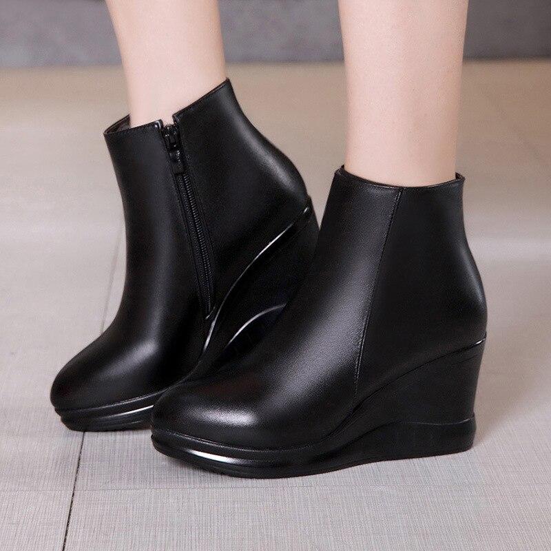 Boots Inverno Zeppa A Con Scarpe Elegante Winter Formato 43 Martin 7ExHwqpqOP
