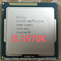 lntel I5 3570K CPU Processor Quad-Core(3.4Ghz /L3=6M/77W) Socket LGA 1155 Desktop CPU Free Shipping