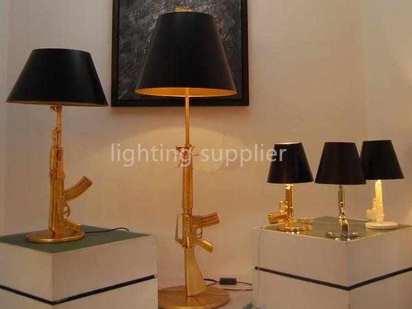 Popular Gun Table Lamp-Buy Cheap Gun Table Lamp lots from ...