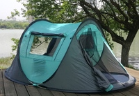 ONE TOUCH OUTDOOR CAMPING TENT