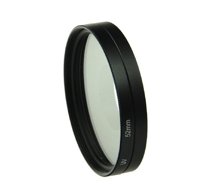 UV Lens Filter 52mm + Alloy Adapter Ring + Lens Cap Lente Protector Filtro  for Gopro Hero 3 3+ 4 Accessories Set