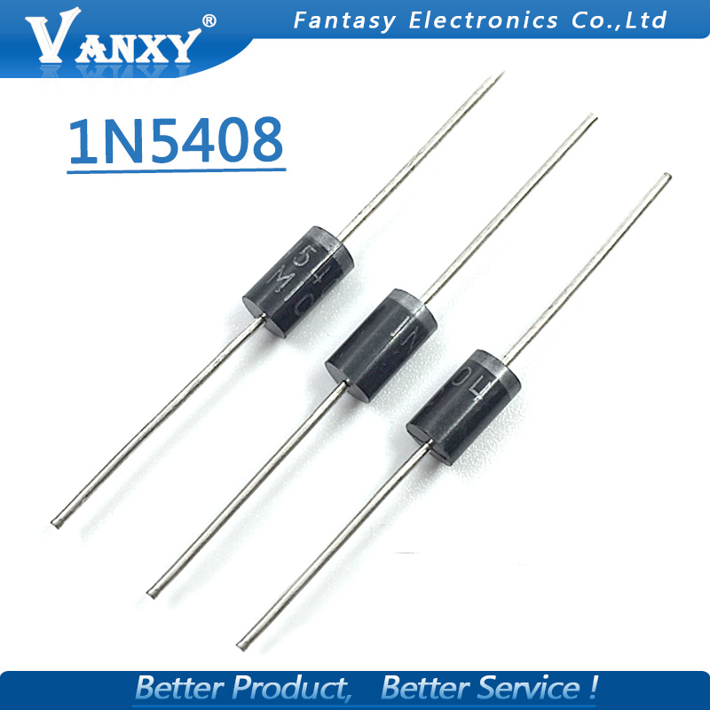 20pcs IN5408 1N5408 3A 1000V DO-27 Rectifier Diode