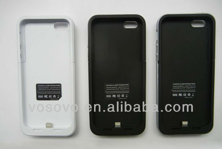 Backup battery case for Iphone 5 with fast delivery