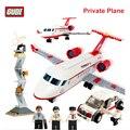 GUDI Serie Aviación Avión Privado Compatible con Técnica Aipllane Bloques Juguetes de Bloques de Construcción para Niños Niño Niña 8911
