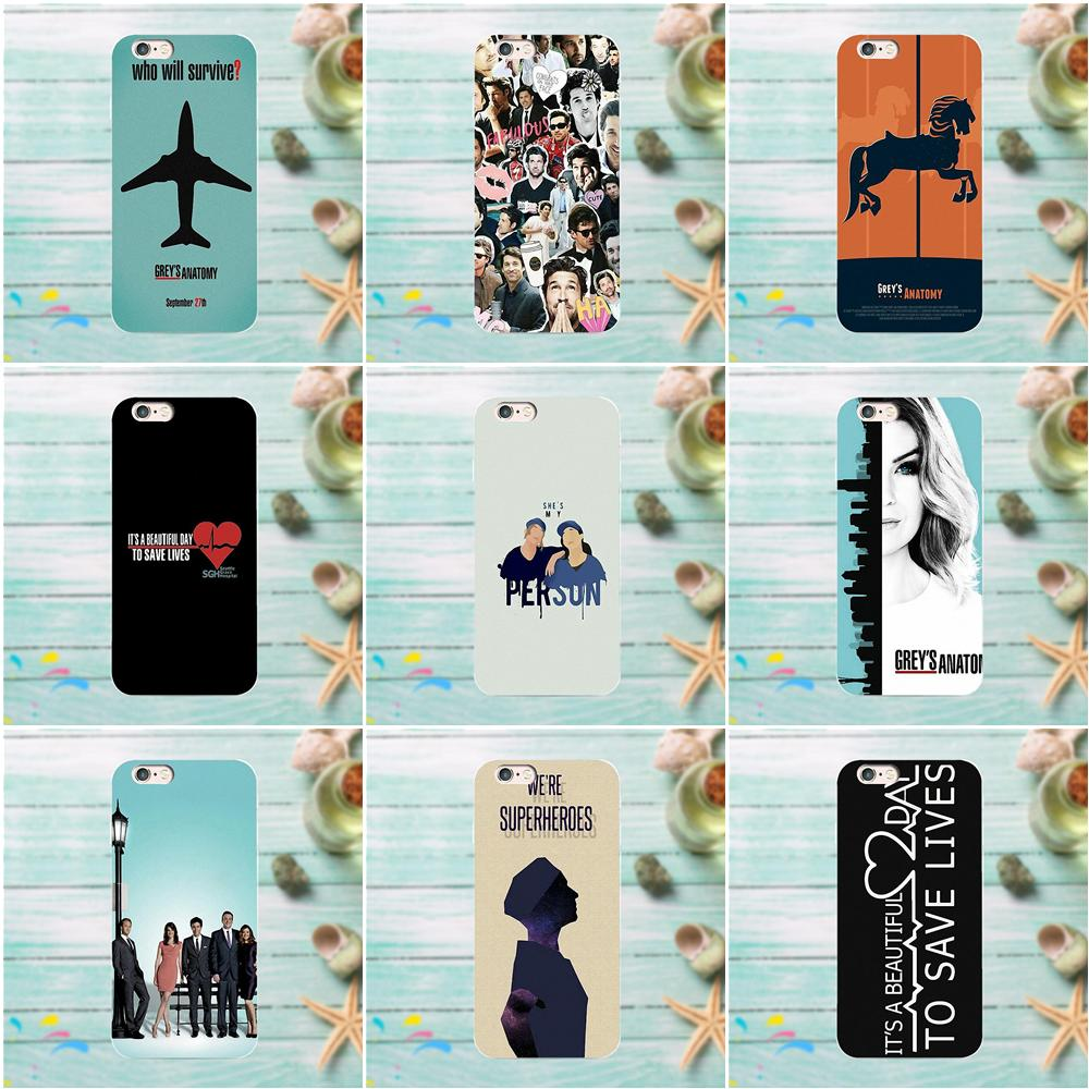 Kmuysl For Apple IPhone 4 4S 5 5C SE 6 6S 7 8 Plus X For LG G3 G4 G5 G6 K4 K7 K8 K10 V10 V20 Soft Cell Phone Case Grey's Anatomy
