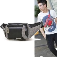 Unisex Belt Waist Bags Fishing Fanny Female Bag Fashion Waterproof Chest Handbag Pouch Men