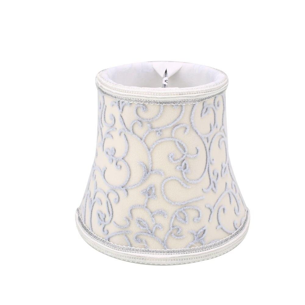 Старинная ткань Европейская хрустальная люстра со свечами настенный светильник абажур кафе - Цвет корпуса: 9
