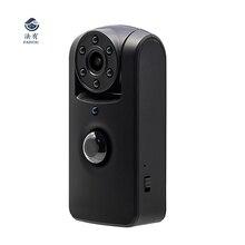 Мини-камера обнаружения движения PIR ИК ночного видения 6 светодио дный ных ламп вращение объектива широкий угол 140 градусов длительный режим ожидания HD 1080 P Memor