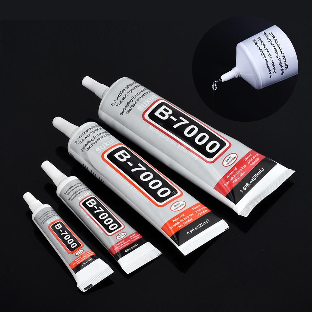 B-7000 Strength Glue Phone Screen Repair Adhesive Electronic Components Glue DIY Jewelry Rhinestone Pasting Adhesive With Pin