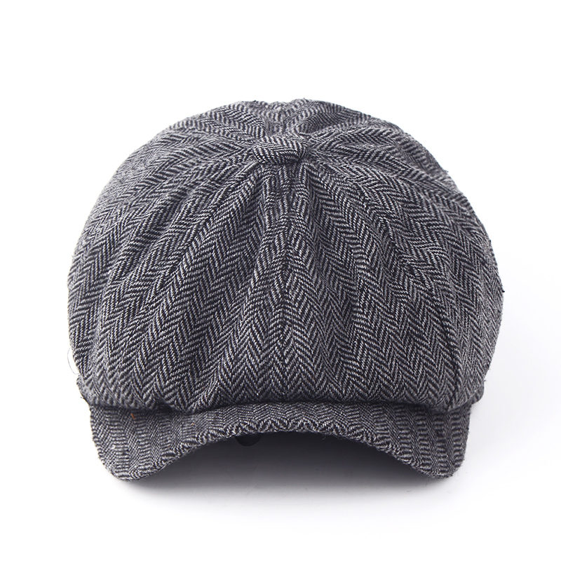 2017 new fashion Warm winter reported bonnet octagonal cap beret hat men 39 s outdoor winter hat cap Newsboy Beret Jason Statham in Men 39 s Newsboy Caps from Apparel Accessories
