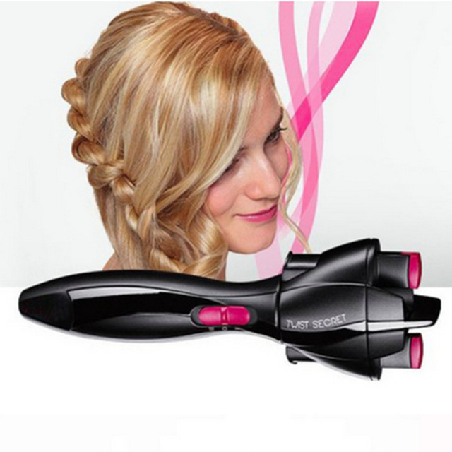 New Automatic Hair Braider Styling Tools Smart Quick Easy Diy Electric Two Strands Twist Braid Maker