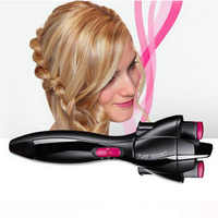 New Automatic Hair Braider Styling Tools Smart Quick Easy DIY Electric Two strands Twist Braid Maker Hair Braider Machine