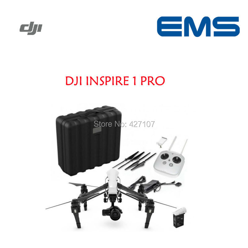 Fast Shipping DJI Inspire 1 Pro 4K Camera & 3-Axis Gimbal Zenmuse X5 W/Plastic Case Via EMS