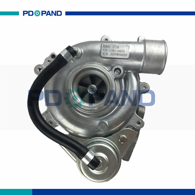 Image 5 - 2KD diesel engine turbo kit CT9 turbo charger 17201 0L050 17201 30070 for Toyota Hiace Hilux Dyna Regiusace Fortuner 2.5Lcharger chargercharger forcharger turbo -