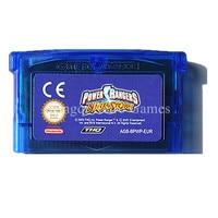 Nintendo GBA Game Power Rangers Ninja Storm Video Game Cartridge Console Card EU English Language