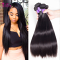 Peruvian Virgin Hair Straight 4 Bundles Peerless Virgin Hair 7A Unprocessed Human Hair Bundles Straight Peruvian Virgin Hair