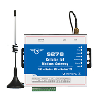 Cellular IoT Modbus RTU Gateway Industrial IOT Module GSM 3G 4G Data Acquisition For Agriculture Environment