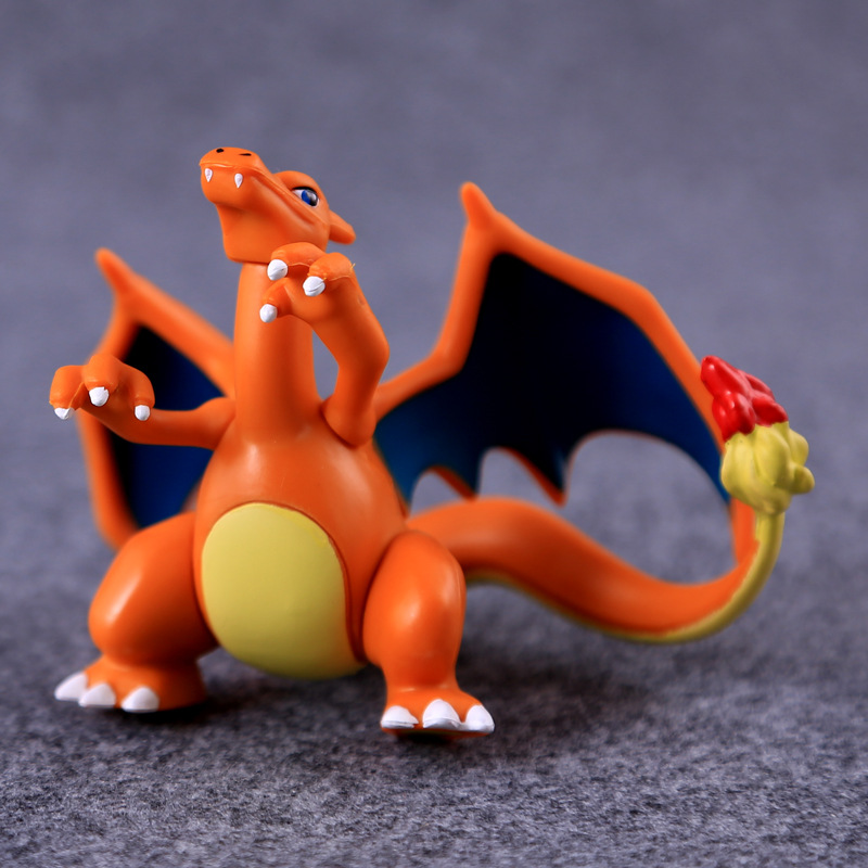 Figure Charizard Pikachu Meowth Anime Action Figure Toys Collection Dolls