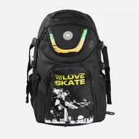 Fsk slalom patins inline sapatos dc patinação saco para seba série para powerslide ps rolo rb nós amamos skate mochila preto scrawl